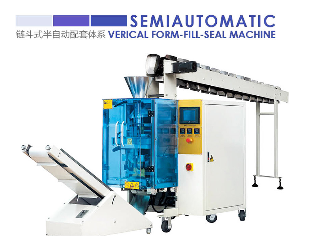 Semiautomatic Verical Form-Fill-Seal-Machine