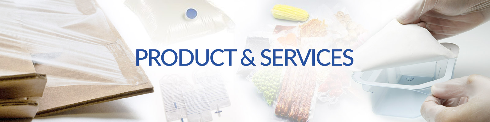 Products & Services - Top Banner